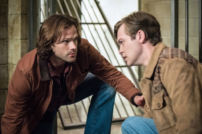 "Jared Padalecki and Alexander Calvert, ""Supernatural"""