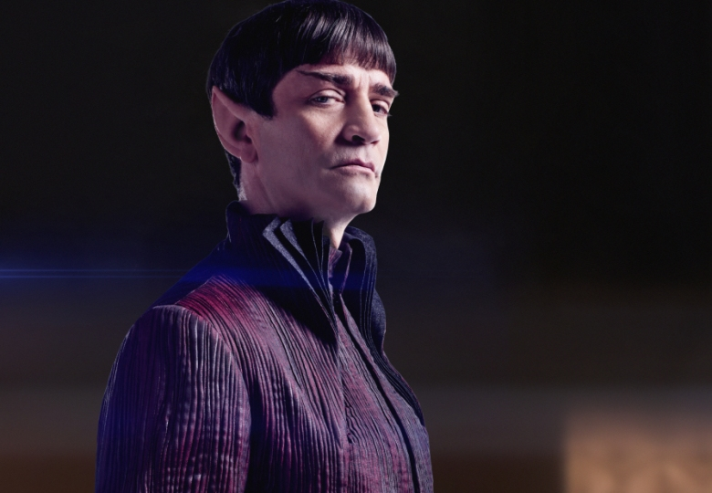 Pictured: James Frain as Ambassador Sarek. STAR TREK: DISCOVERY coming to CBS All Access. Photo Cr: James Dimmock © 2017 CBS Interactive. All Rights Reserved.