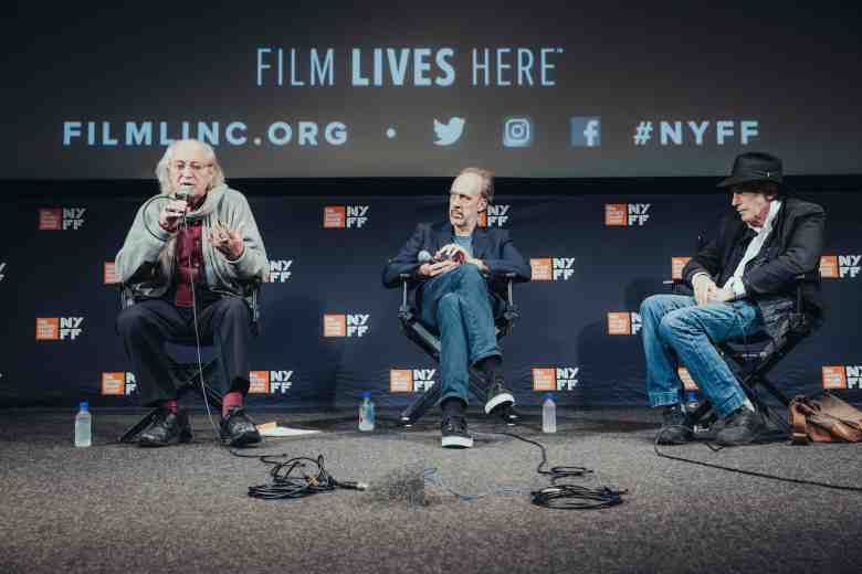 Vittorio Storaro, Kent Jones and Ed Lachman discuss cinematography at NYFF