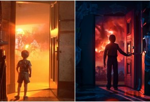 """""""Close Encounters of the Third Kind"""" and """"Stranger Things 2"""""""