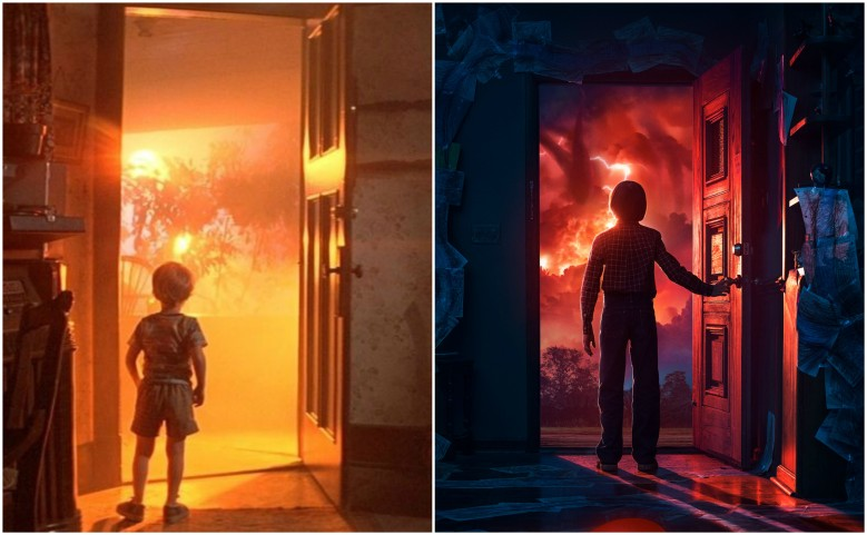 """Close Encounters of the Third Kind"" and ""Stranger Things 2"""