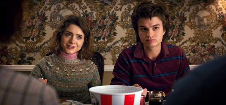 "Natalia Dyer and Joe Keery, ""Stranger Things"""