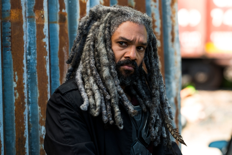Khary Payton as Ezekiel - The Walking Dead _ Season 8, Episode 1 - Photo Credit: Gene Page/AMC