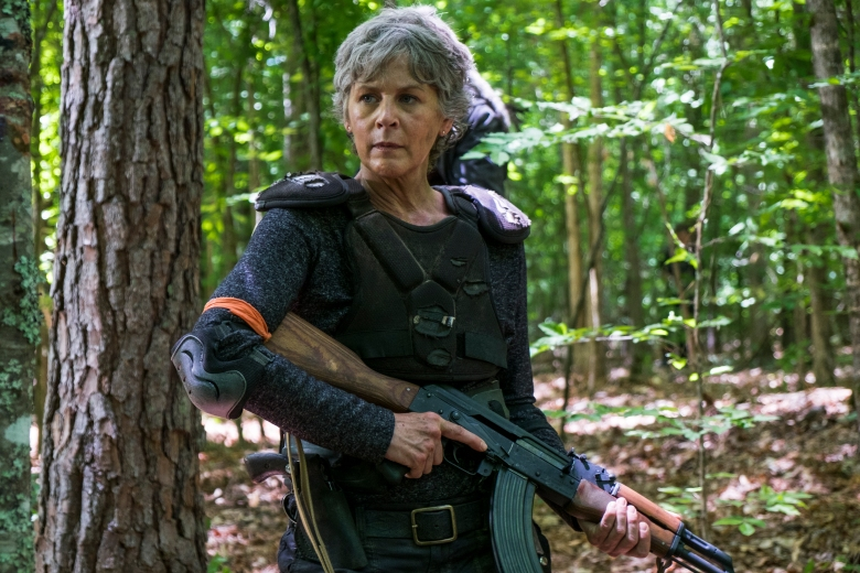 Melissa McBride as Carol Peletier - The Walking Dead _ Season 8, Episode 2 - Photo Credit: Gene Page/AMC