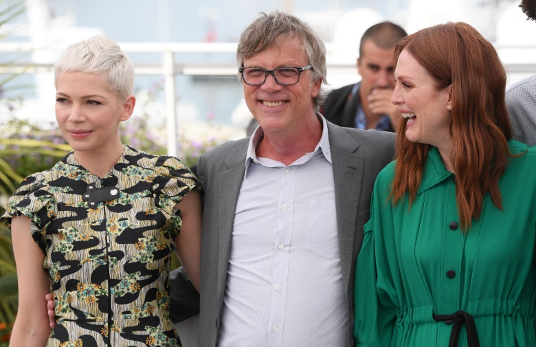 Michelle Williams, Todd Haynes and Julianne Moore'Wonderstruck' photocall, 70th Cannes Film Festival, France - 18 May 2017