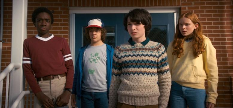 Stranger Things 2 Season 2 Netflix Caleb McLaughlin, Gaten Matarazzo, Finn Wolfhard, Sadie Sink