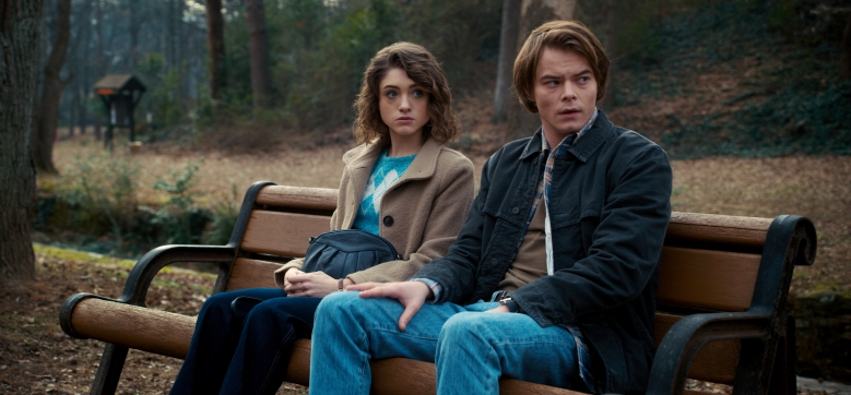 "Natalia Dyer and Charlie Heaton, ""Stranger Things"""