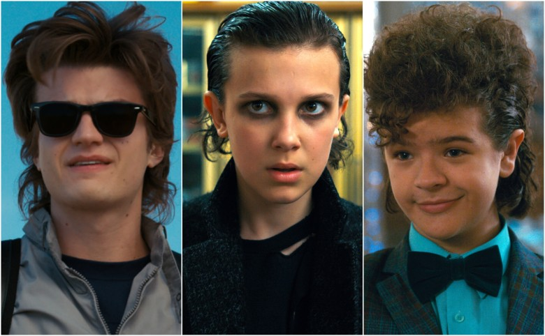 """Stranger Things"" hairdos"