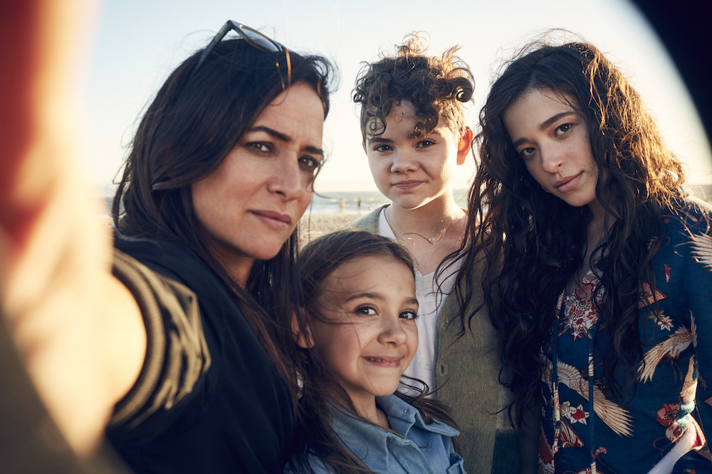 Better Things Season 2 Pamela Adlon, Olivia Edward, Hannah Alligood, Mikey Madison
