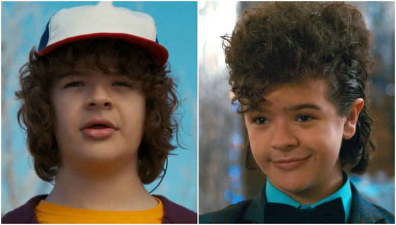 Stranger Things Dustin hair