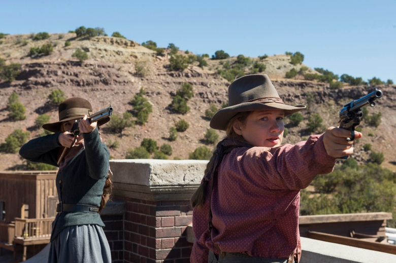 "Michelle Dockery and Merritt Wever, ""Godless"""
