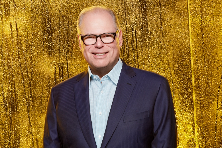 Glenn Gordon Caron, Executive Producer of the CBS drama BULL, at the WATCH! Magazine TCA Photo Booth July 26, 2017. Photo: Cliff Lipson/CBS ©2017 CBS Broadcasting, Inc. All Rights Reserved