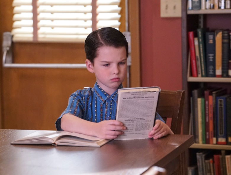 Young Sheldon Season 1 Iain Armitage