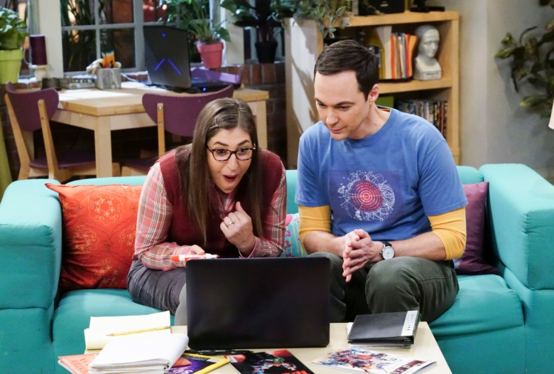 The Big Bang Theory Season 11 Jim Parsons Mayim Bialik