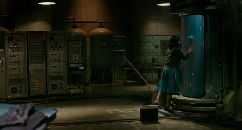 Sally Hawkins and Doug Jones in the film THE SHAPE OF WATER. Photo Courtesy of Fox Searchlight Pictures. © 2017 Twentieth Century Fox Film Corporation All Rights Reserved