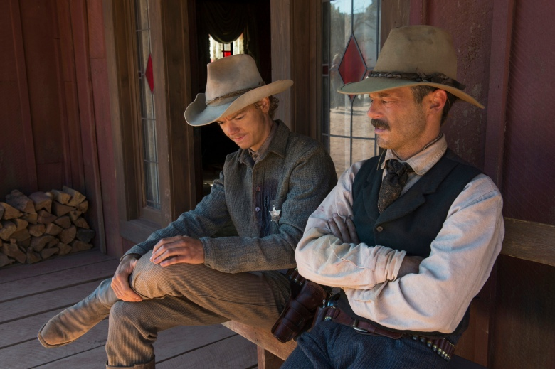 "Thomas Brodie-Sangster and Scoot McNairy, ""Godless"""