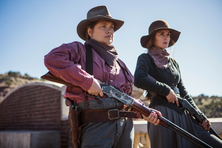 "Merritt Wever and Michelle Dockery, ""Godless"""