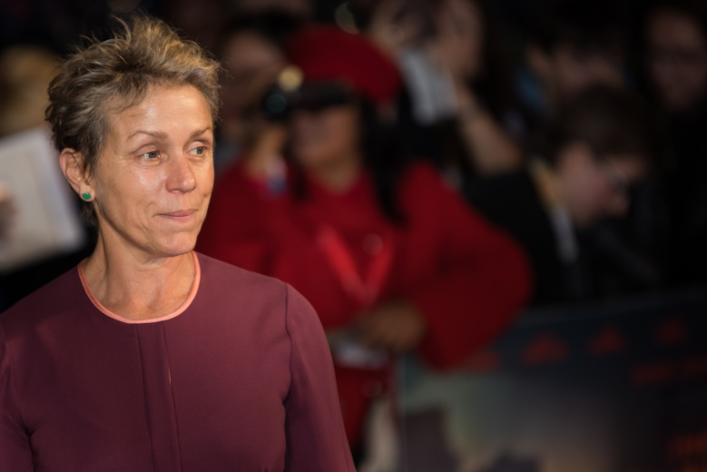 Frances McDormand'Three Billboards Outside Ebbing Missouri' premiere, BFI London Film Festival, UK - 15 Oct 2017