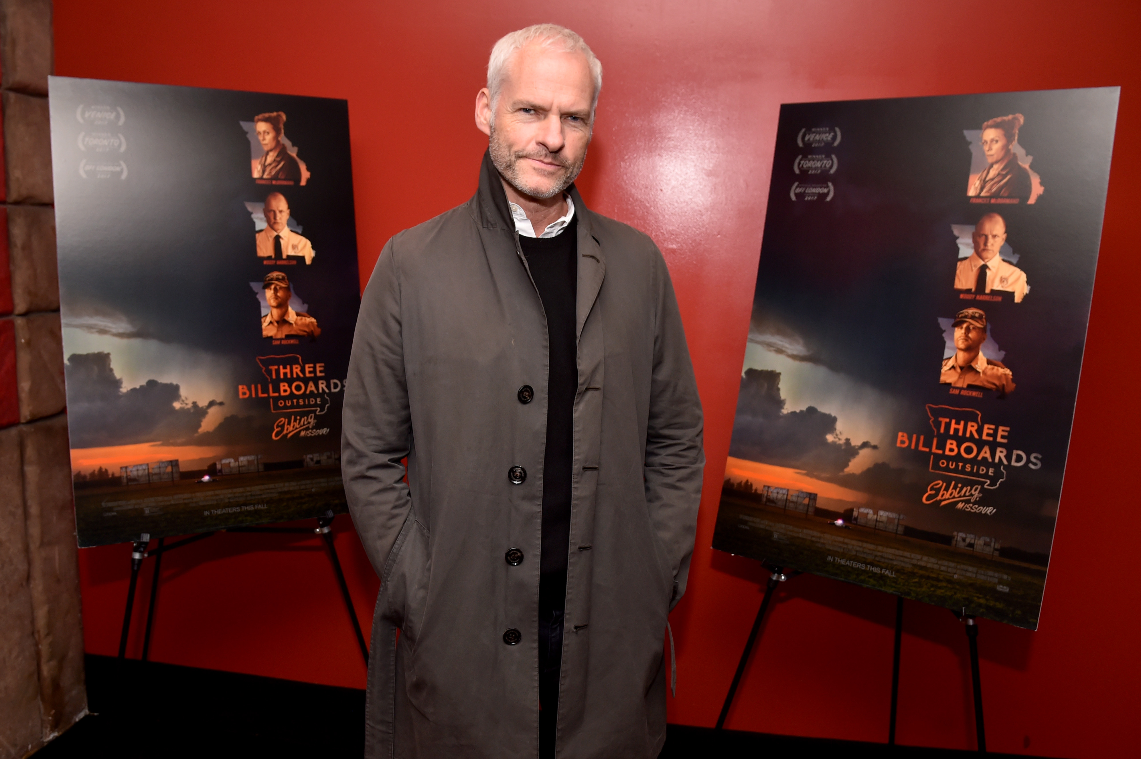 Martin McDonagh'Three Billboards Outside Ebbing, Missouri' BAFTA film screening, New York, USA - 05 Nov 2017