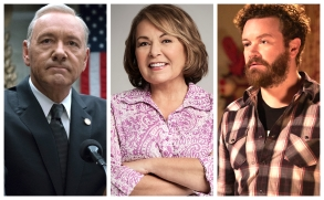 """Kevin Spacey on """"House of Cards,"""" Roseanne Barr on """"Roseanne,"""" Danny Masterson on """"The Ranch"""""""