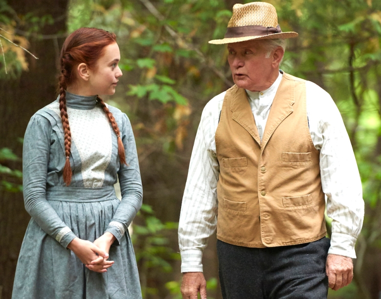 "Ella Ballentine and Martin Sheen, ""Anne of Green Gables: The Good Stars"""