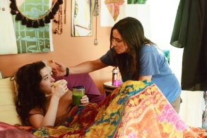 "BETTER THINGS ""Graduation"" Episode 10 (Airs Thursday, November 16, 10:00 pm/ep) -- Pictured: (l-r) Mikey Madison as Max, Pamela Adlon as Sam Fox. CR: Bonnie Osborne/FX"