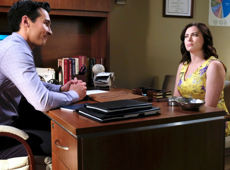 "Jay Hayden and Rachel Bloom, ""Crazy Ex-Girlfriend"""