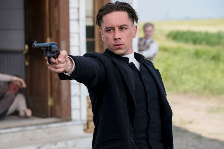 """DAMNATION -- """"Which Side Are You On"""" Episode 102 -- Pictured: Killian Scott as Seth Davenport -- (Photo by: Chris Large/USA Network)"""