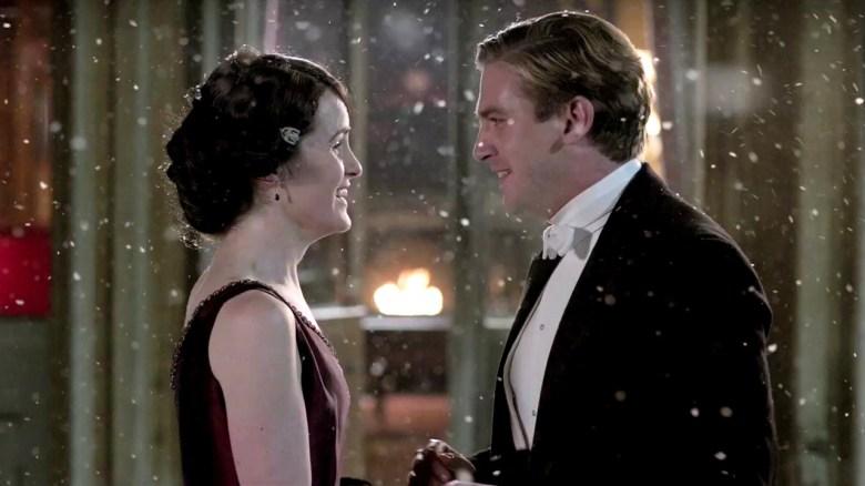 """Michelle Dockery and Dan Stevens, """"Downton Abbey"""""""