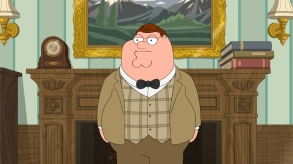 """FAMILY GUY: Peter gets fired from his job at the brewery in the signature styles of three famous Hollywood film directors in the """"Three Directors"""" episode of FAMILY GUY airing Sunday, Nov. 5 (9:00-9:30 PM ET/PT) on FOX. FAMILY GUY ™ and © 2017 TCFFC ALL RIGHTS RESERVED. CR: FOX"""