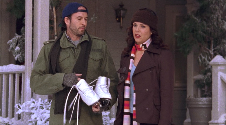 "Scott Patterson and Lauren Graham, ""Gilmore Girls"""