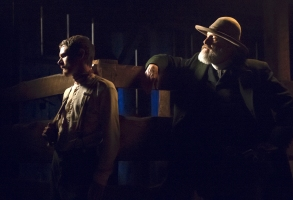 "Jack O'Connell and Jeff Daniels, ""Godless"""