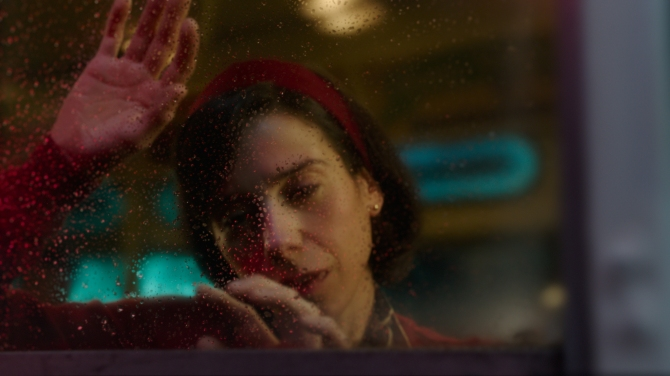 Sally Hawkins in the film THE