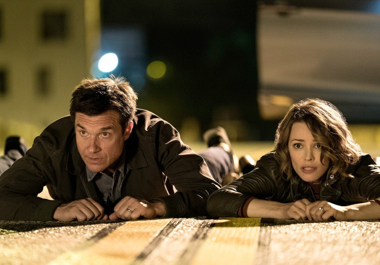 Jason Bateman and Rachel McAdams in Game Night
