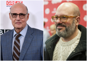 Jeffrey Tambor and David Cross