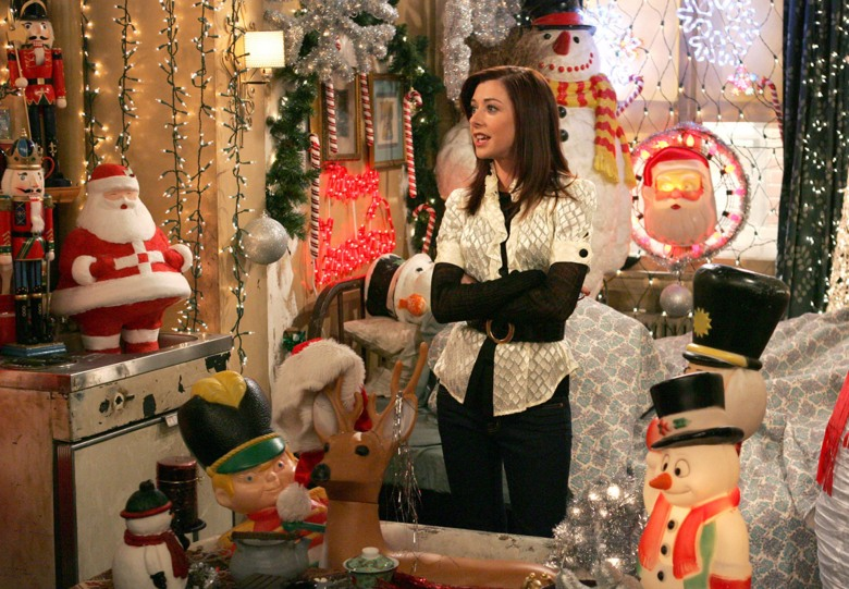 how i met your mother season 2 episode 11 how lily stole christmas