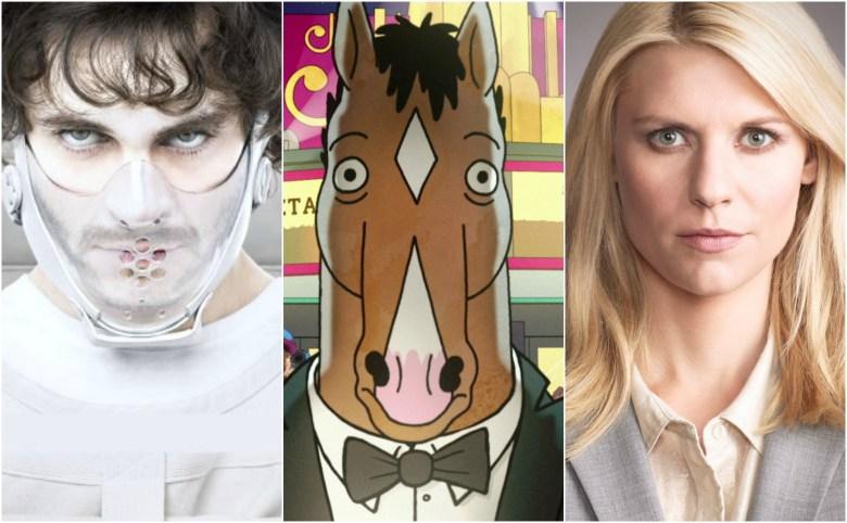 """""""Hannibal,"""" """"BoJack Horseman,"""" """"Homeland"""""""