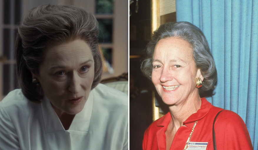 Meryl Streep as Katharine Graham