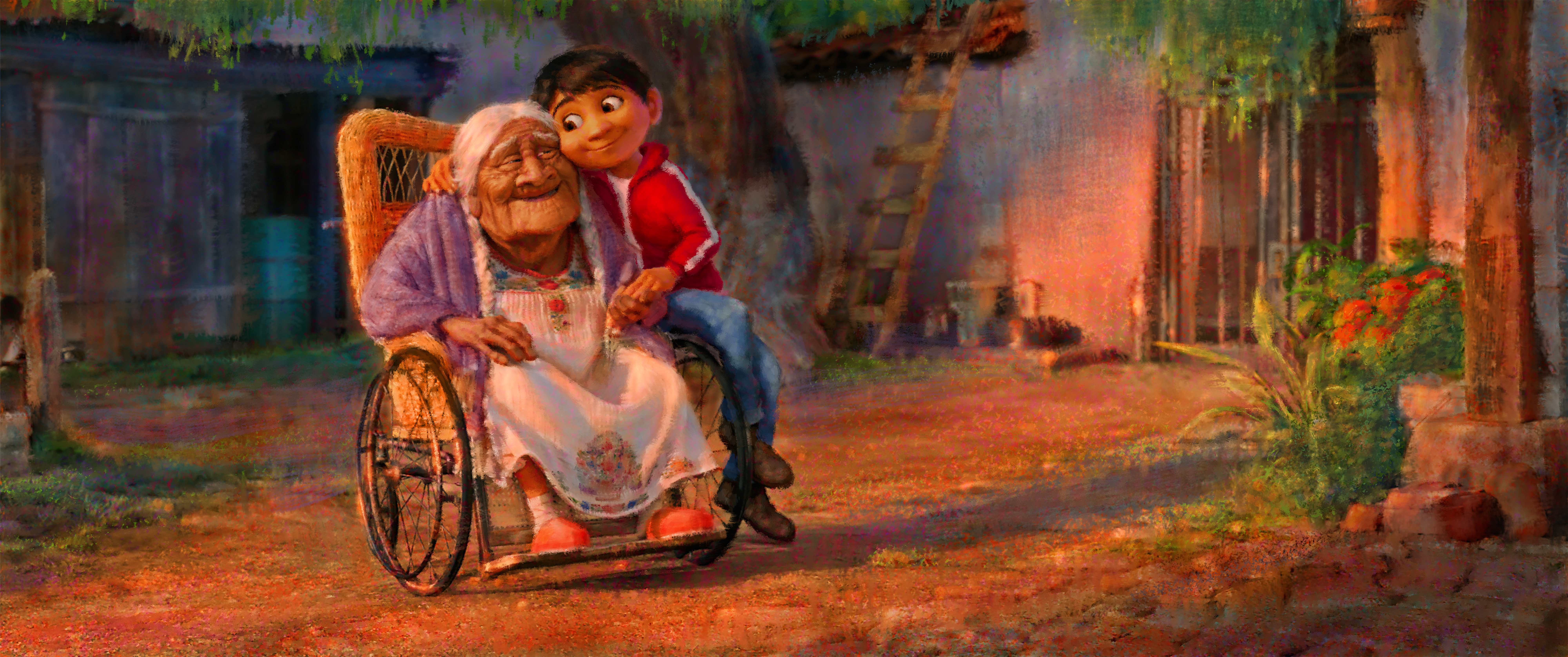 COCO - Concept art by Sharon Calahan. ©2017 Disney•Pixar. All Rights Reserved.