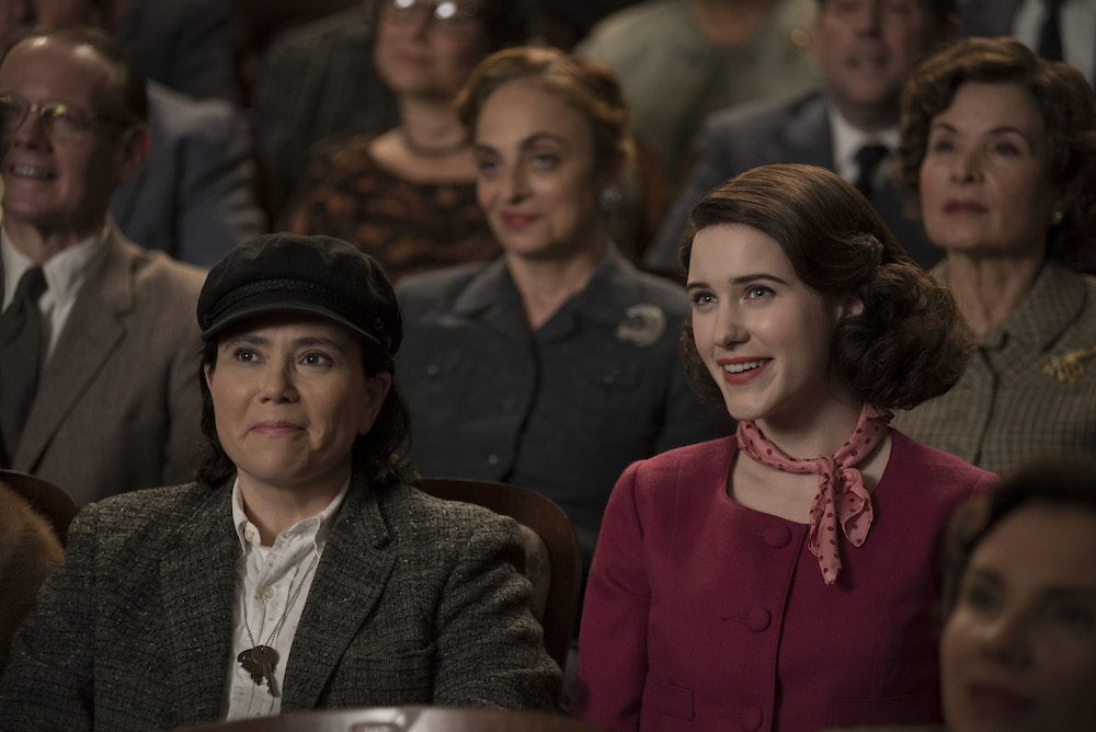 The Marvelous Mrs. Maisel Season 1 Alex Borstein Rachel Brosnahan