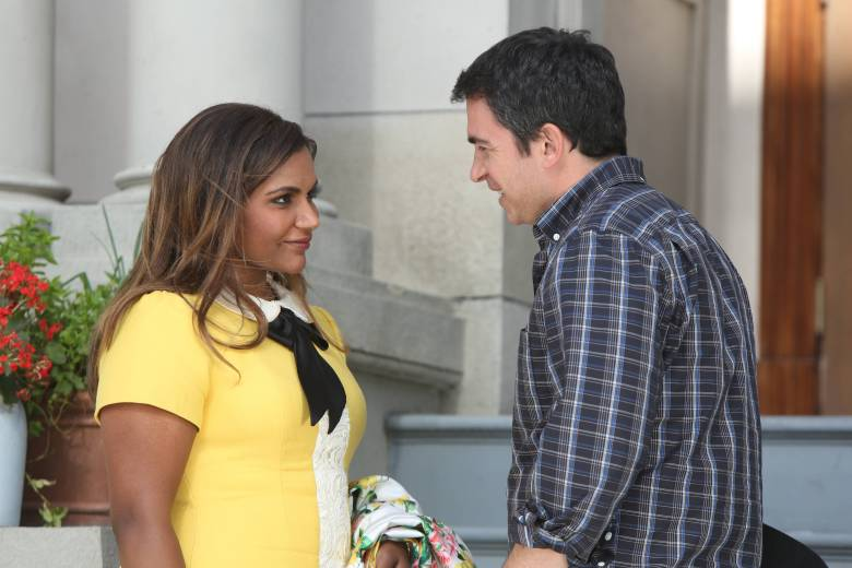 "Mindy Kaling and Chris Messina, ""The Mindy Project"""