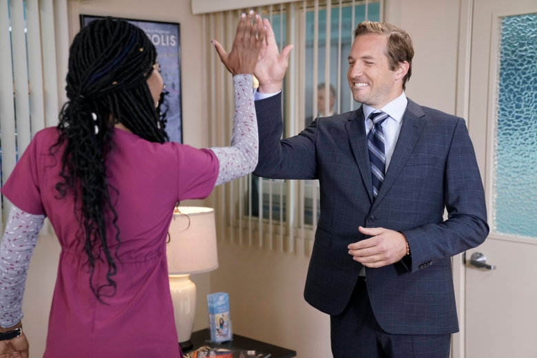 "Xosha Roquemore and Ryan Hansen, ""The Mindy Project"""