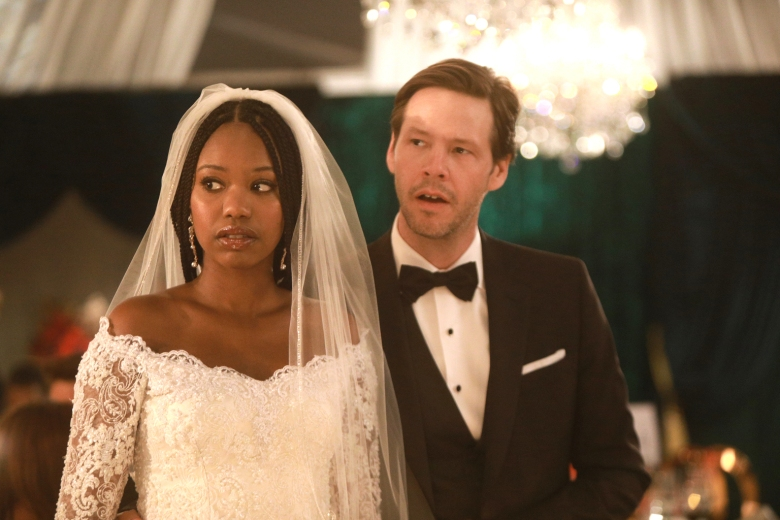 "Xosha Roquemore and Ike Barinholtz, ""The Mindy Project"""