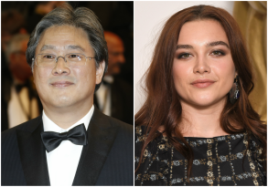 Park Chan-wook and Florence Pugh