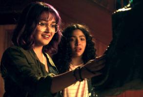 "Ariela Barer and Allegra Acosta, ""Marvel's Runaways"""
