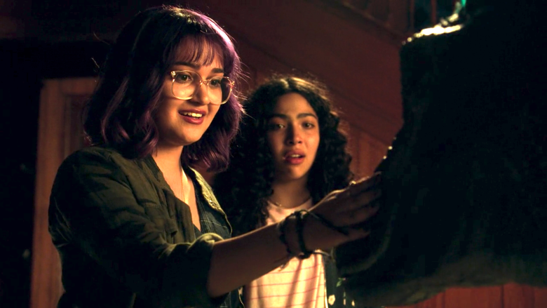 "Ariela Barer and Allegra Acosta, ""Marvel's Runaways"""