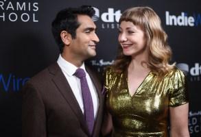 Kumail Nanjiani and Emily GordonIndiewire Honors, Arrivals, Los Angeles, USA - 02 Nov 2017