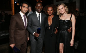 Kumail Nanjiani, Sterling K. Brown, Ryan Michelle Bathe and Diane KrugerIndiewire Honors, Inside, Los Angeles, USA - 02 Nov 2017