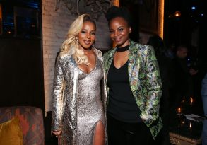 Mary J. Blige and Dee Rees at IndieWire Honors