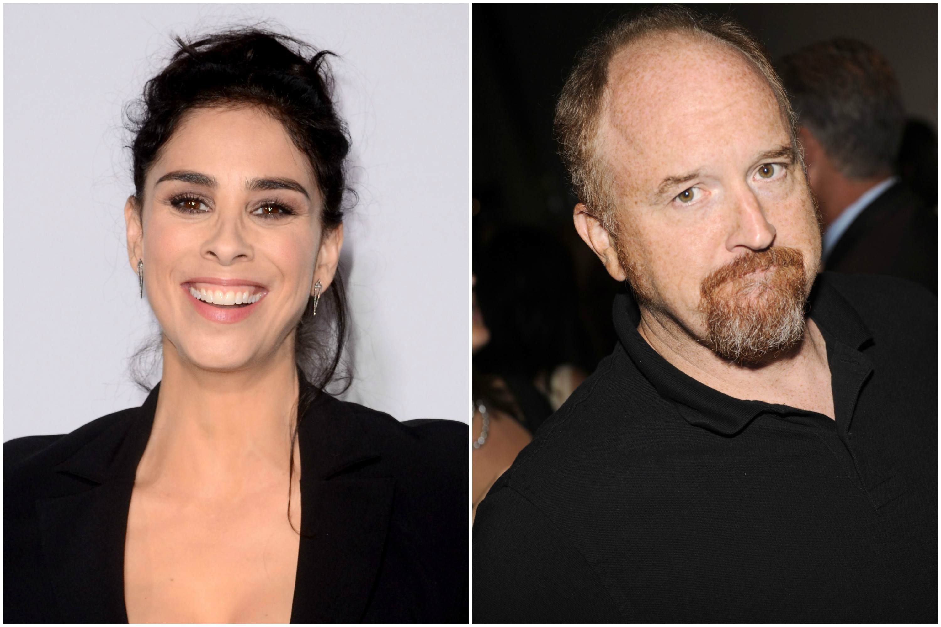 Sarah Silverman allowed Louis CK to masturbate in front of her